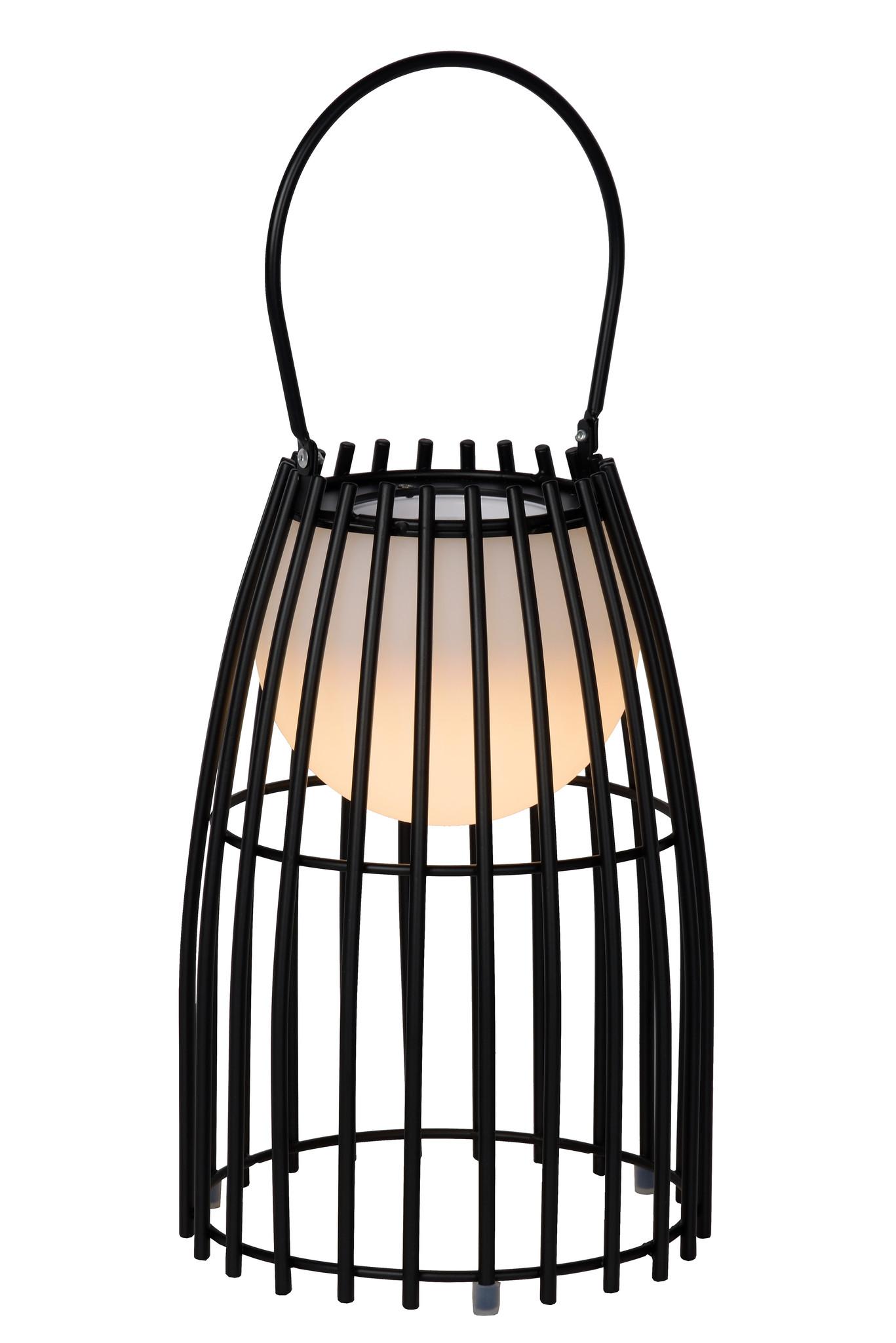 Lucide FJARA Tafellamp Buiten-Zwart-Ø17,5-LED Dimb.-0,3W
