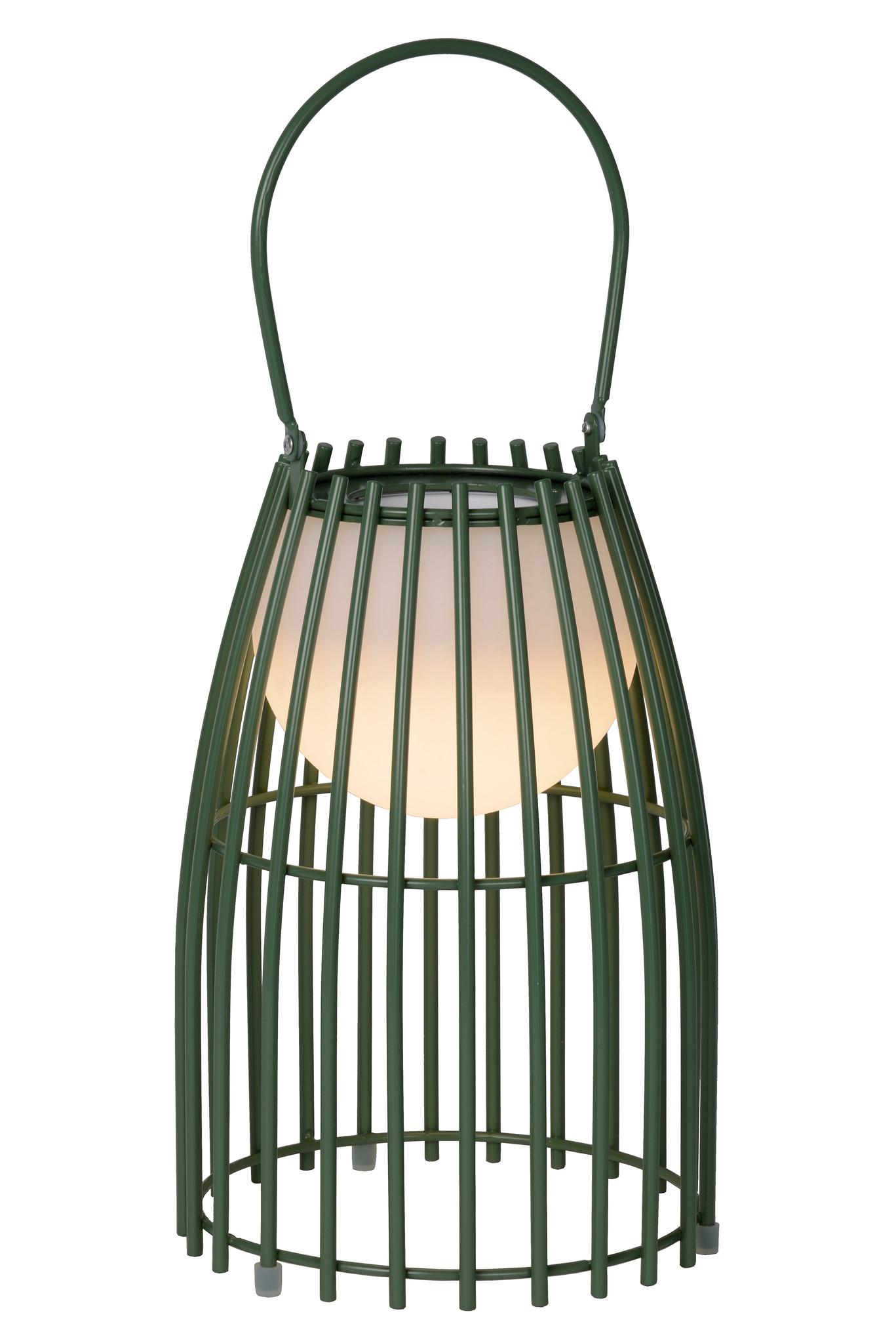 Lucide FJARA Tafellamp Buiten-Groen-Ø17,5-LED Dimb.-0,3W