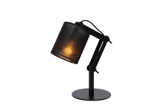 Lucide TAMPA Tafellamp E27/40W Zwart