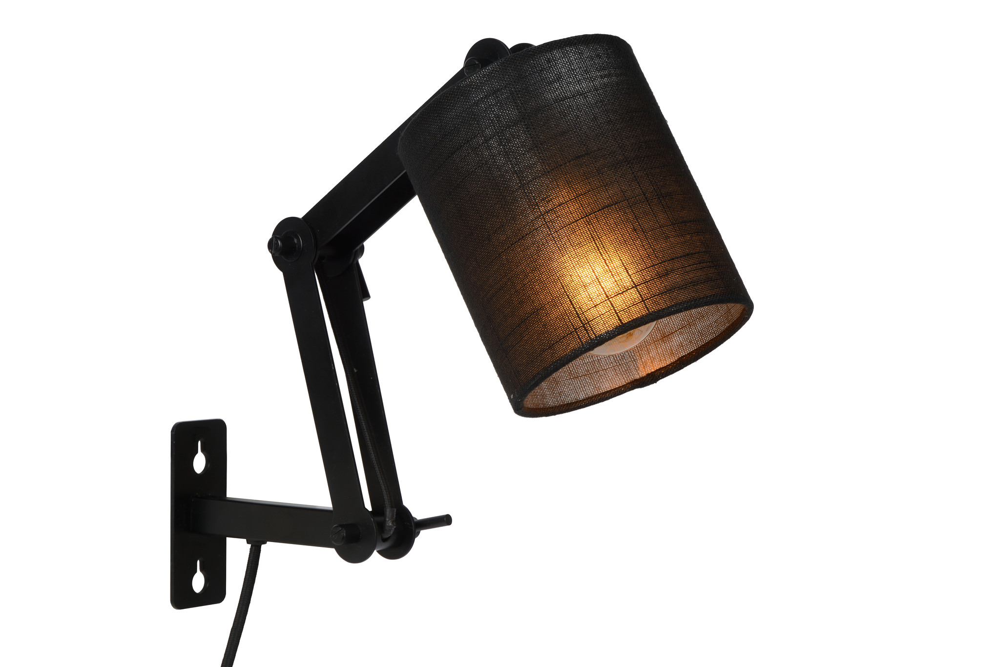 Lucide TAMPA Wandlicht E27/40W Zwart