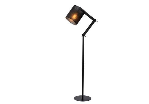 Lucide TAMPA Vloerlamp-Zwart-1xE27-40W-Metaal