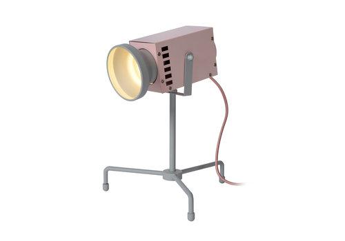 Lucide BEAMER Tafellamp Kinder-Roze-LED-3W-3000K-Staal