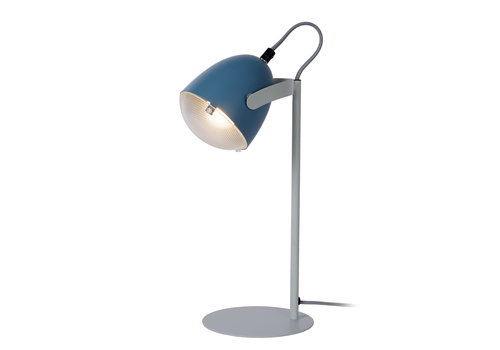 Lucide DYLAN Tafellamp Kinder-Blauw-1xE14-25W-Staal
