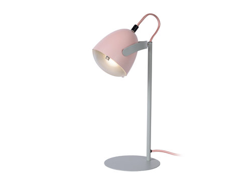 Lucide DYLAN Tafellamp Kinder-Roze-1xE14-25W-Staal