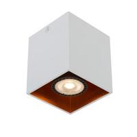 BIDO Plafondspot Vierkant 1xGU10/50W Wit