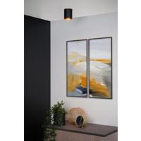 BIDO Plafondspot Rond 1xGU10/50W Zwart