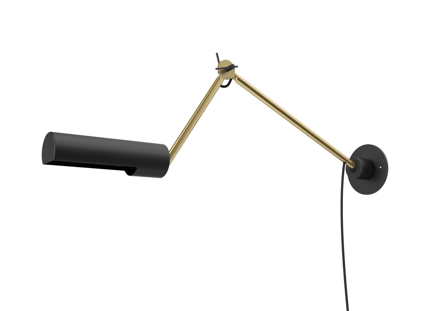 Lucide SLENDER Wandlamp E27/25W Zwart