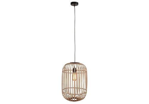 Freelight Hanglamp Treccia Ø 32 cm beige zwart