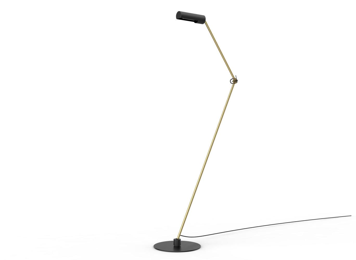 SLENDER Vloerlamp E27/25W Zwart