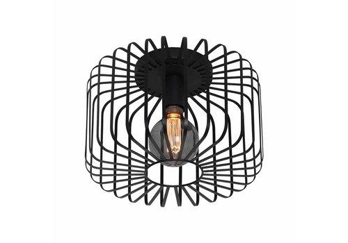 Freelight Plafondlamp Stecca Ø 33 cm zwart