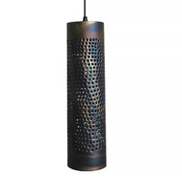 Hanglamp Forato 5 lichts Ø 30 cm Vide bruin zwart
