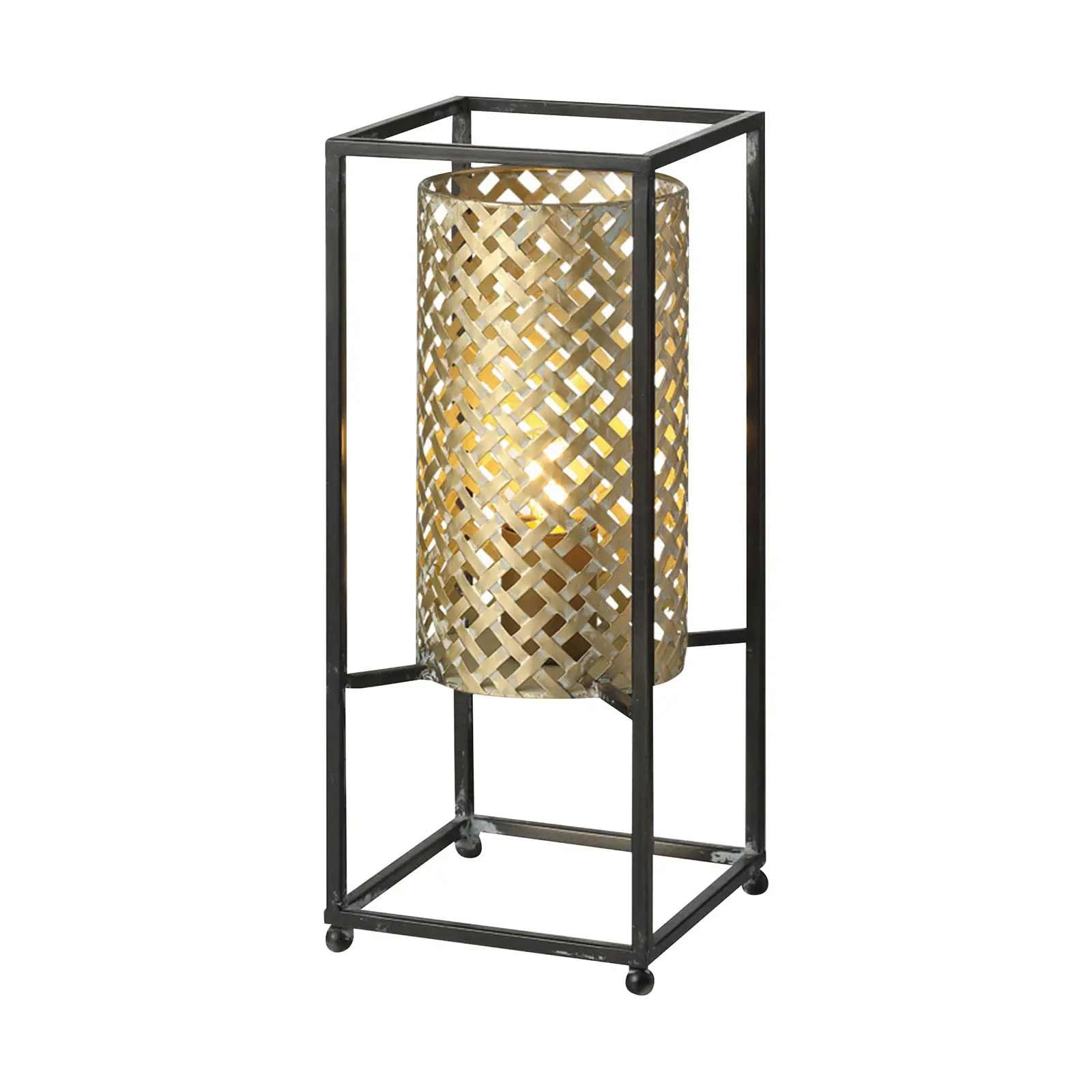 Freelight Tafellamp Petrolio H 37 cm B 15 cm goud zwart