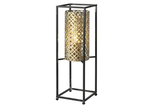 Freelight Tafellamp Petrolio H 47 cm B 15 cm goud zwart
