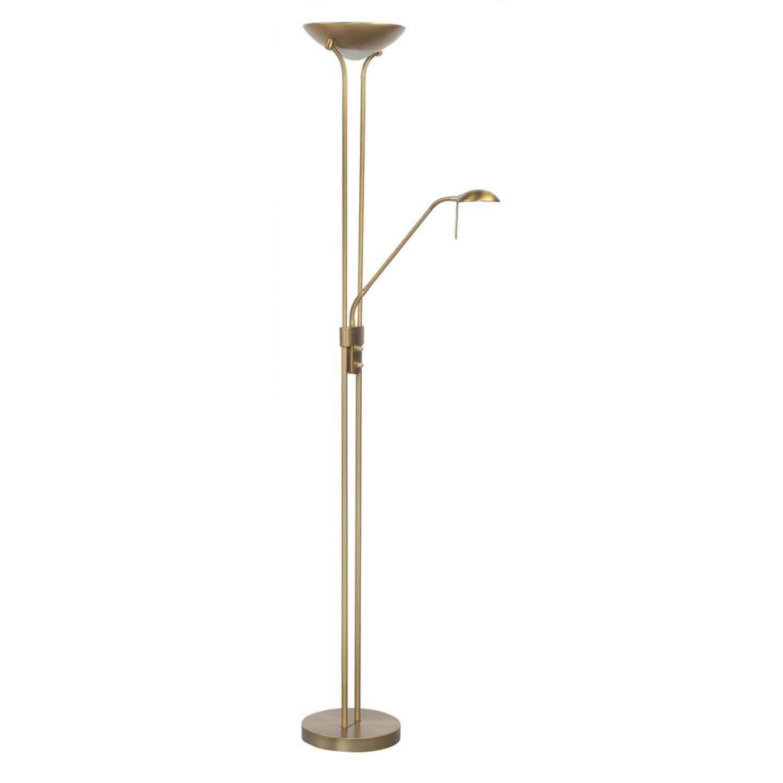 Highlight Vloerlamp New Luna H 180 cm 24 + 5 Watt brons