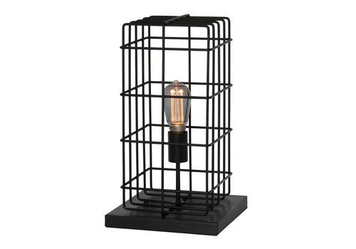 Freelight Tafellamp Squalo H 44 cm zwart