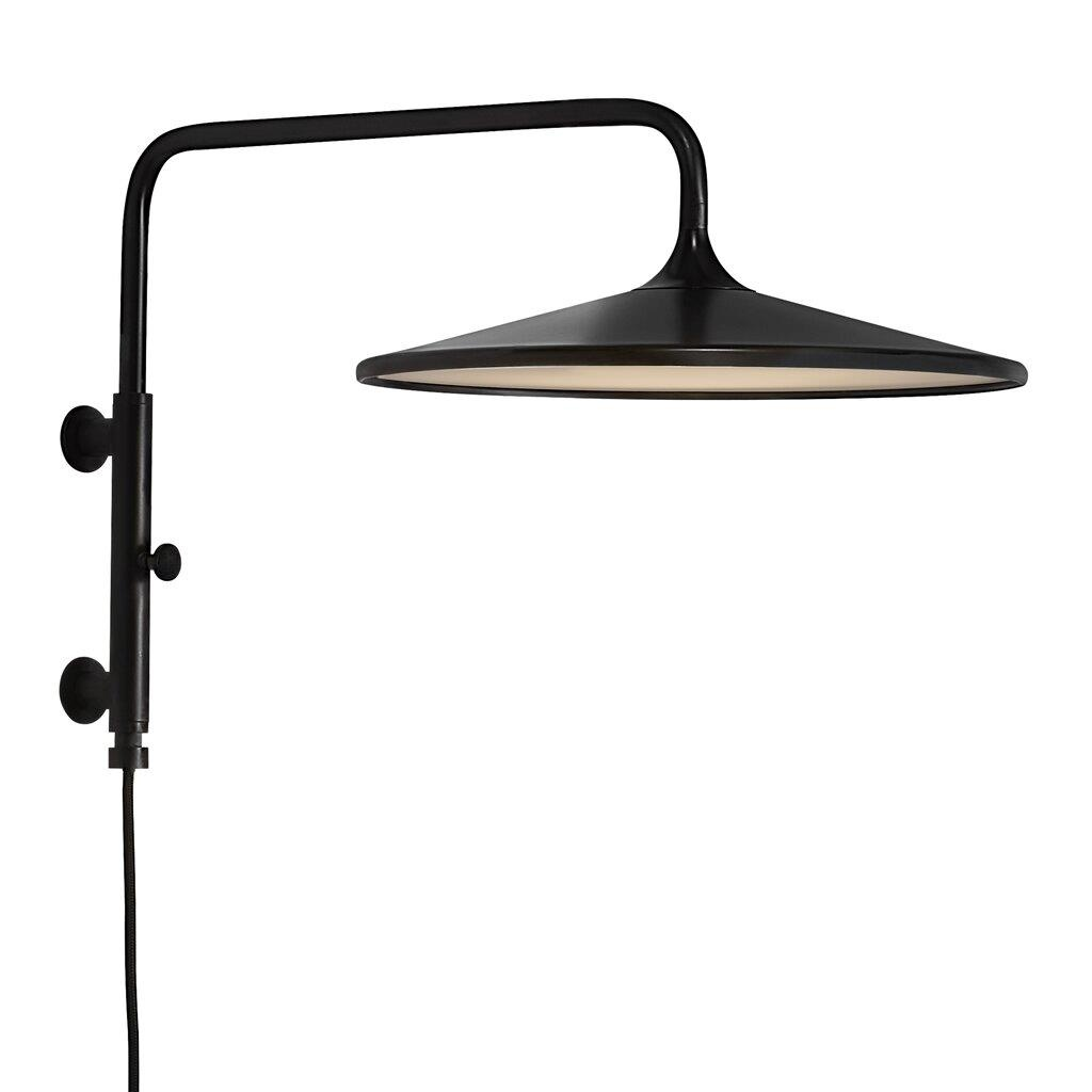 Nordlux Wandlamp Balance Ø 30 cm 3 step dim zwart