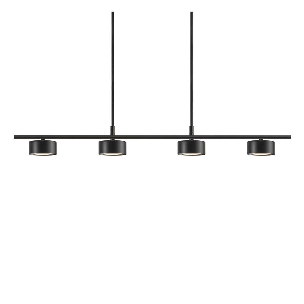 Nordlux Hanglamp Clyde 4 lichts L 115 cm 3 step dim zwart