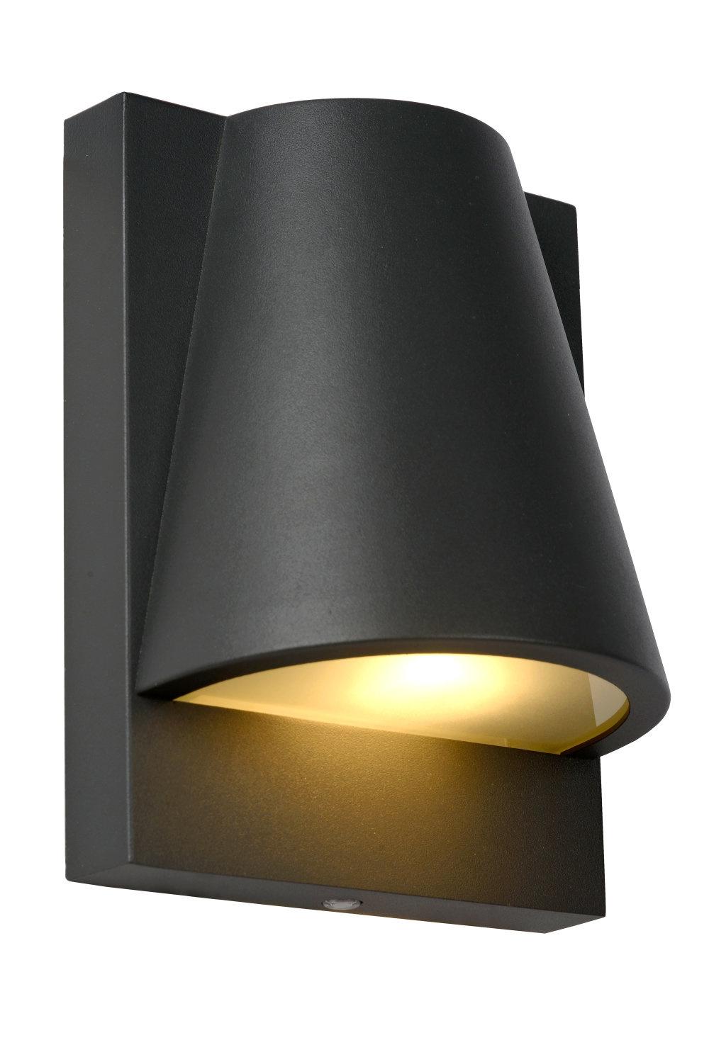 Lucide LIAM Wandlamp Buiten-Antrac.-1xGU10-35W-IP44