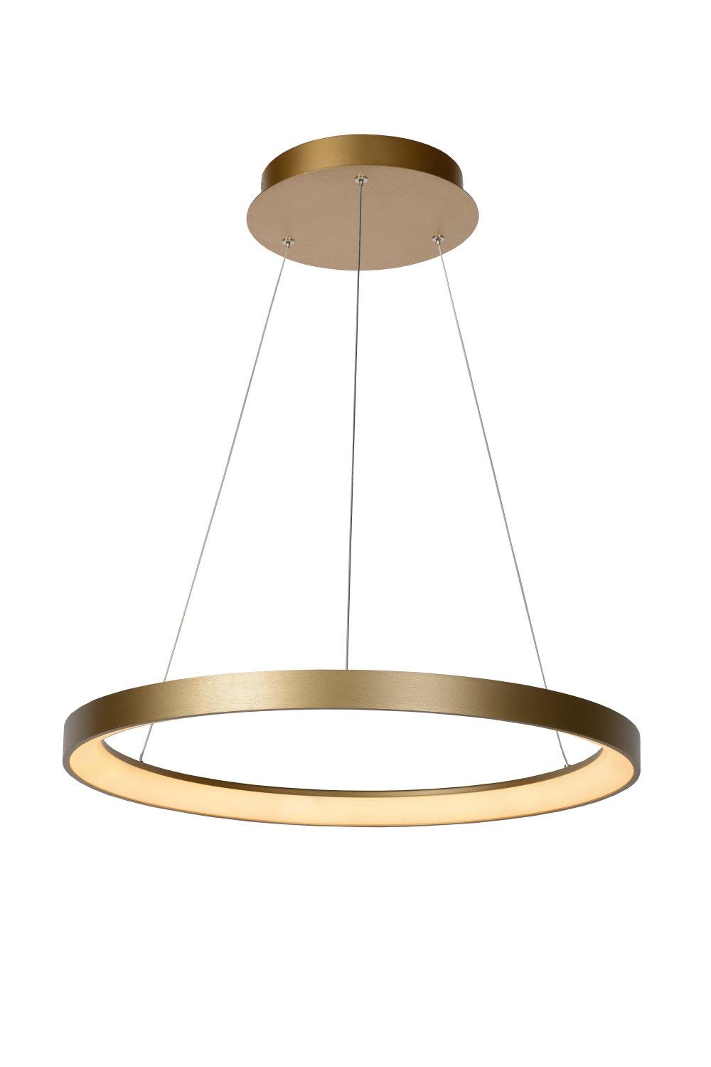 Lucide VIDAL Hanglamp-Mat Go.-Ø58-LED Dimb.-50W-2700K