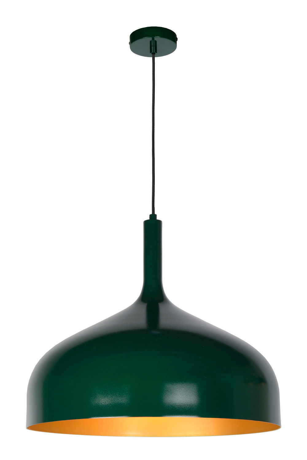 Lucide ROZALLA Hanglamp-Groen-Ø50-1xE27-60W-IP21-Staal