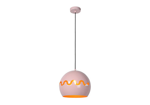 Lucide CORENTIN Hanglamp Kinder-Roze-Ø28-1xE27-60W-IP21