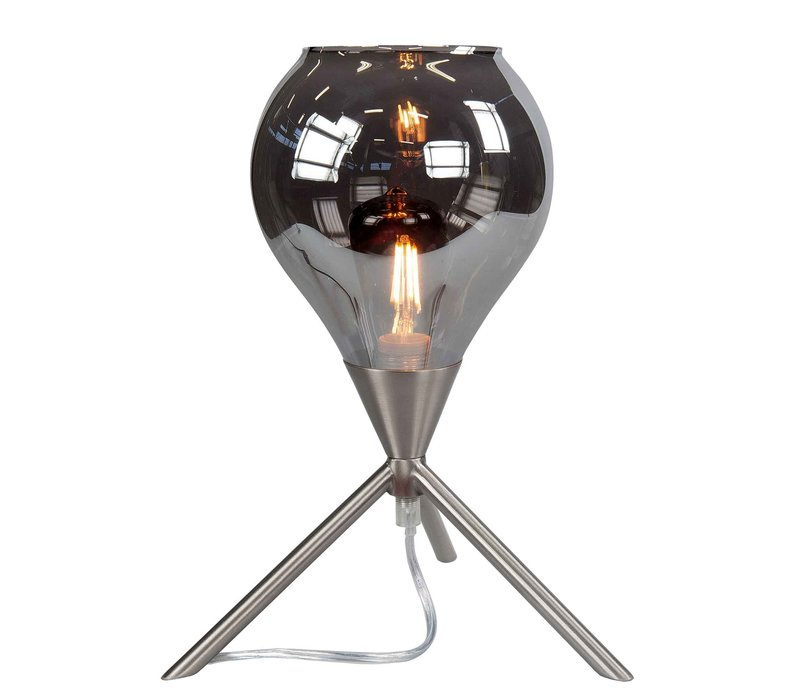 Tafellamp Cambio H 31 cm Ø 22 cm mat chroom