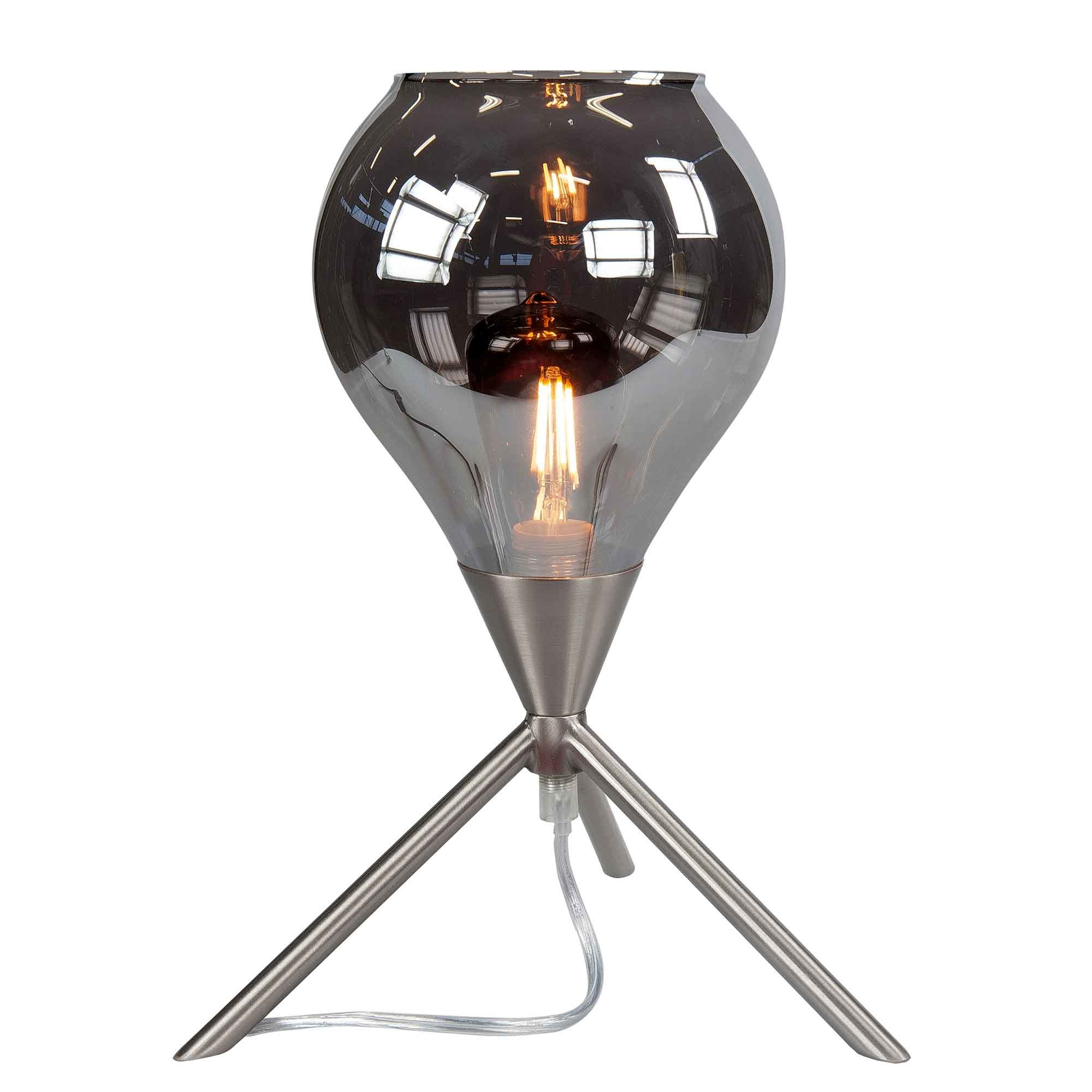 Highlight Tafellamp Cambio H 31 cm Ø 22 cm mat chroom