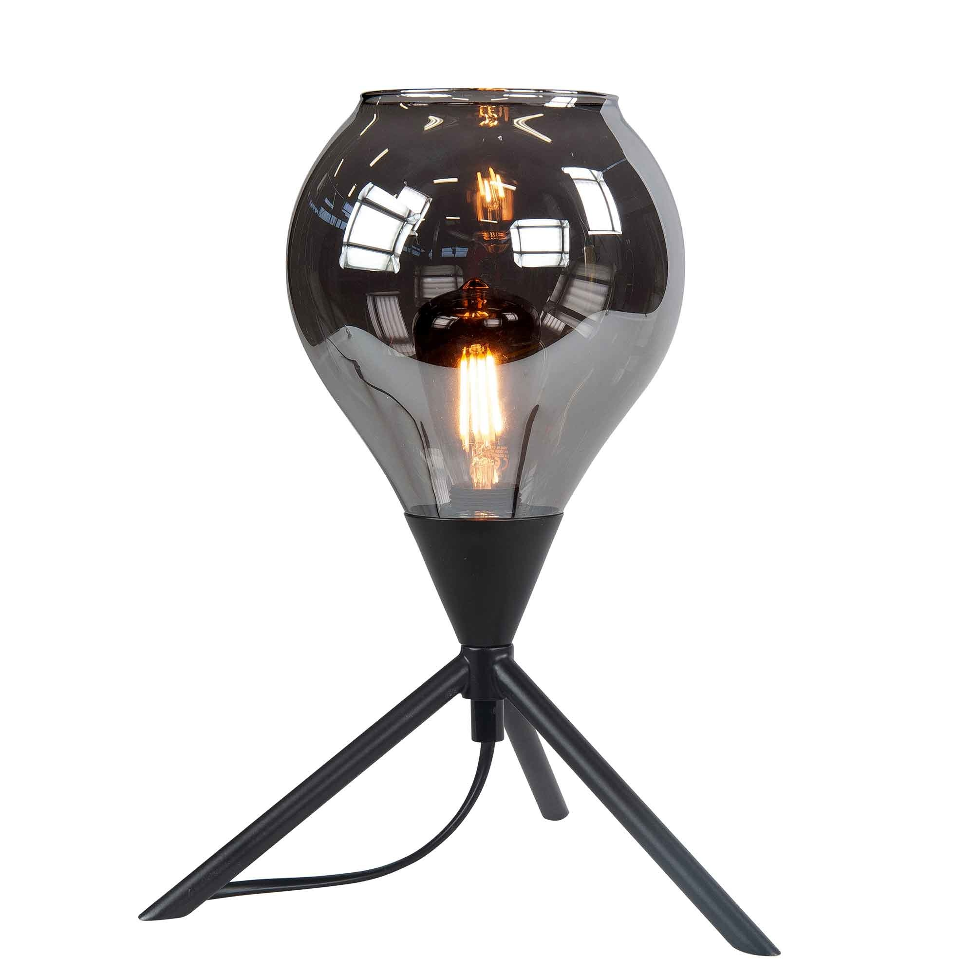 Highlight Tafellamp Cambio H 31 cm Ø 22 cm zwart