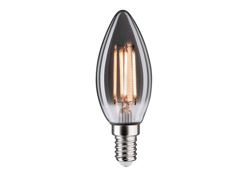 Highlight Lamp LED E14 kaars 4W 130LM 2200K Dimbaar rook