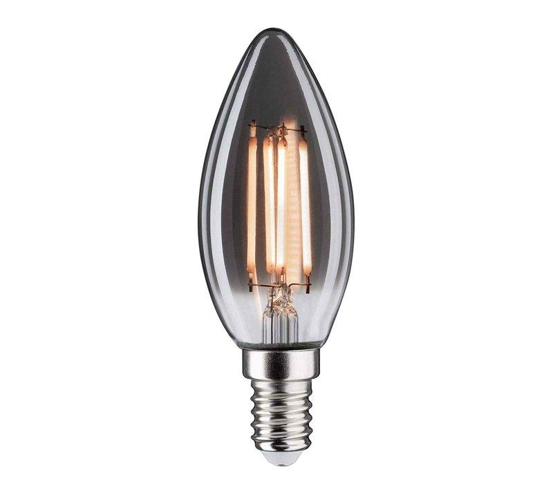Lamp LED E14 kaars 4W 130LM 2200K Dimbaar rook