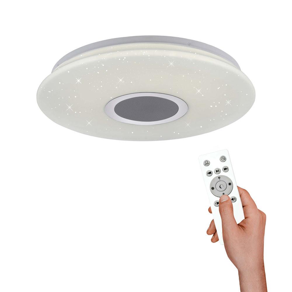 Paul Neuhaus Plafondlamp Oka Ø 40 cm LED Bluetooth luidpreker remote
