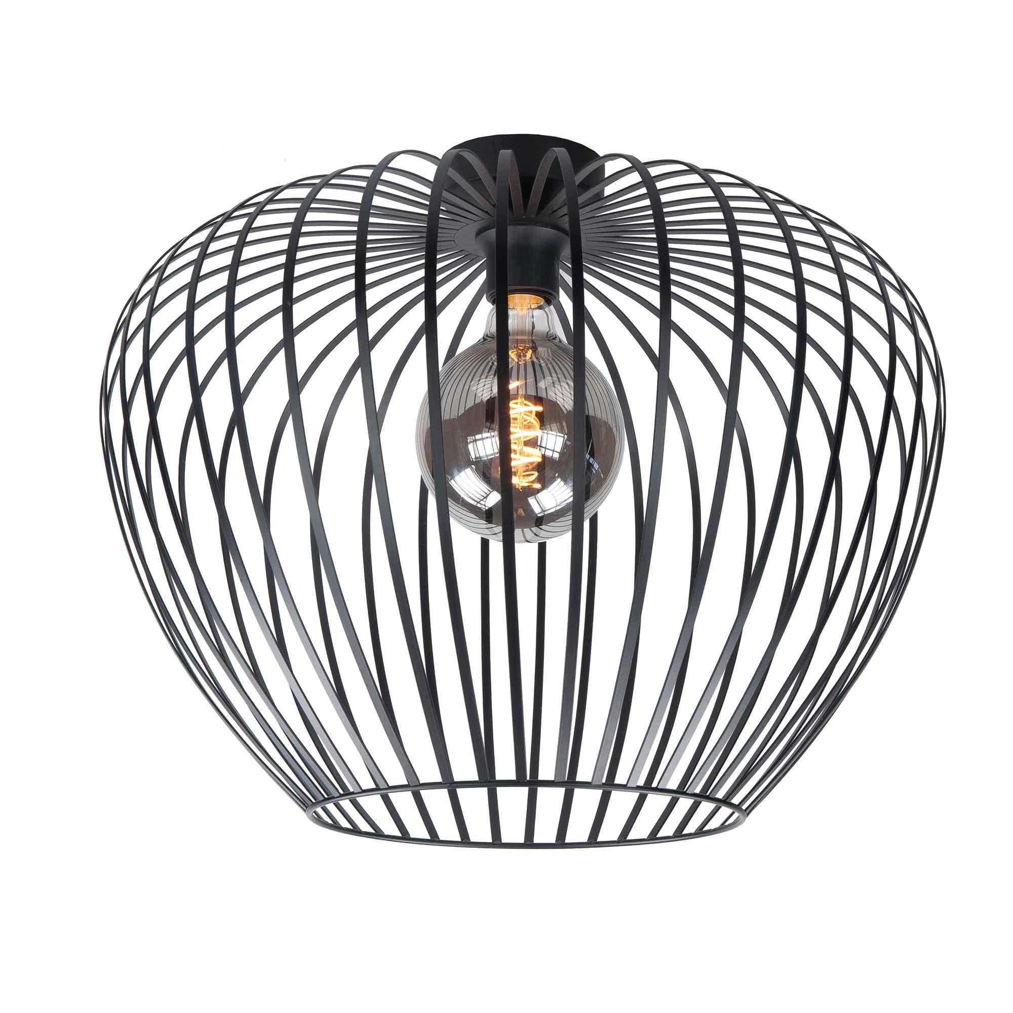 Highlight Plafondlamp Mela Ø 40 cm zwart