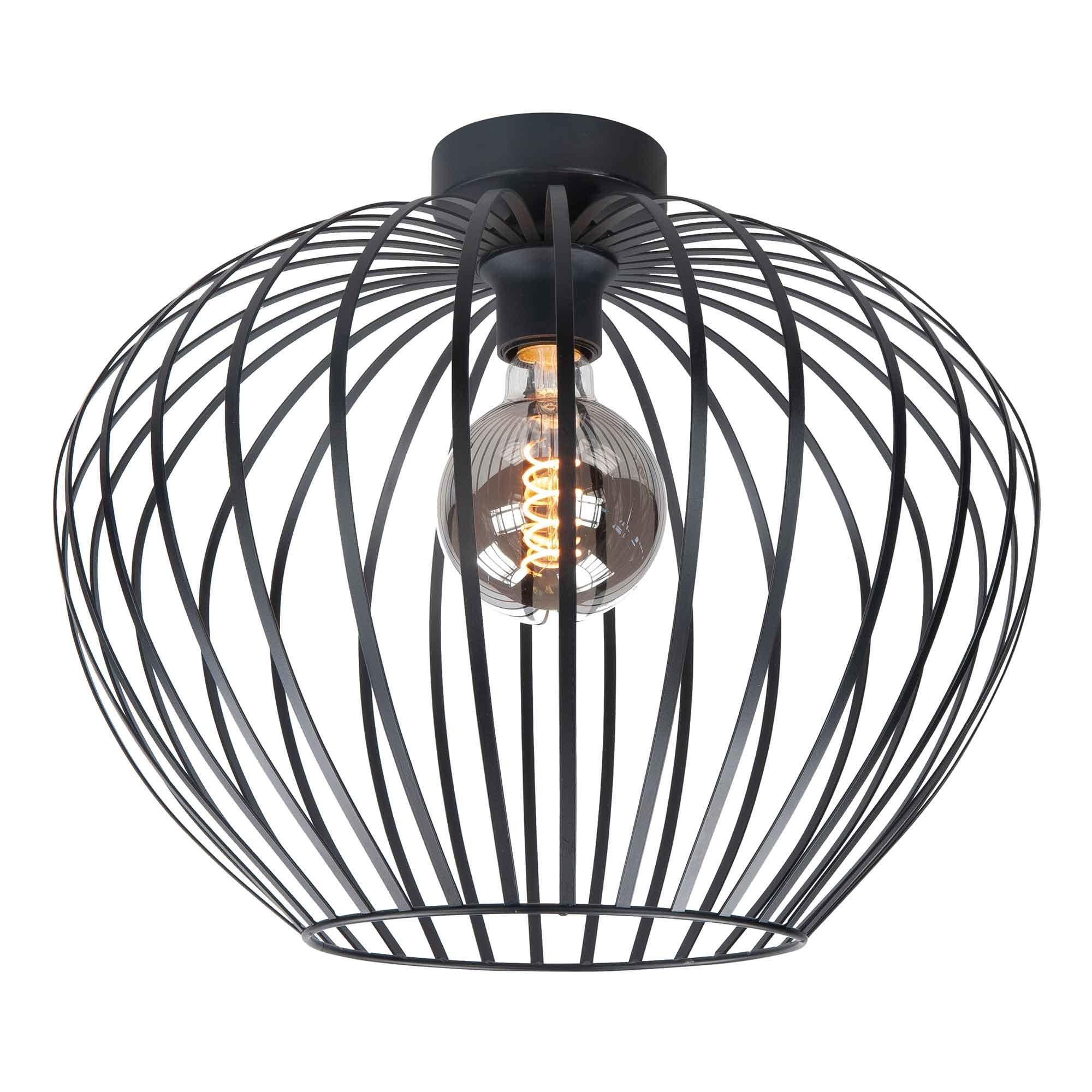 Highlight Plafondlamp Mela Ø 50 cm zwart