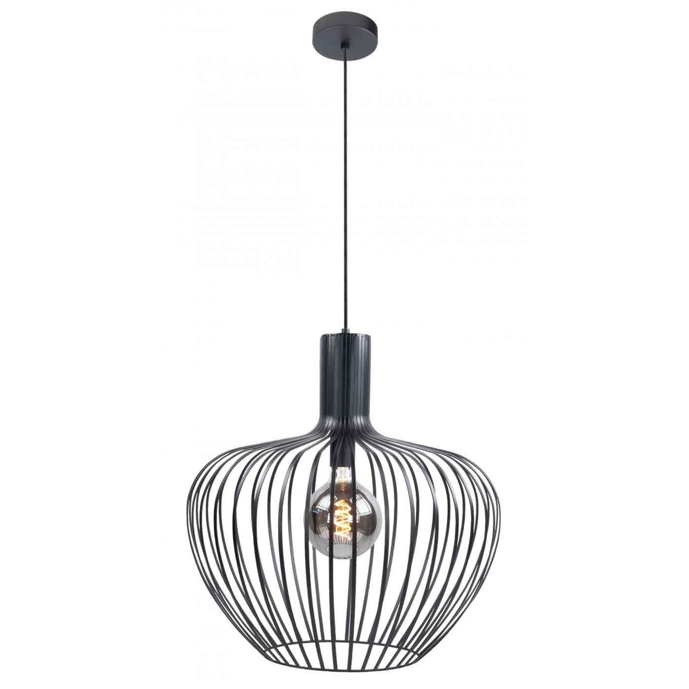 Highlight Hanglamp Mela Ø 50 cm zwart