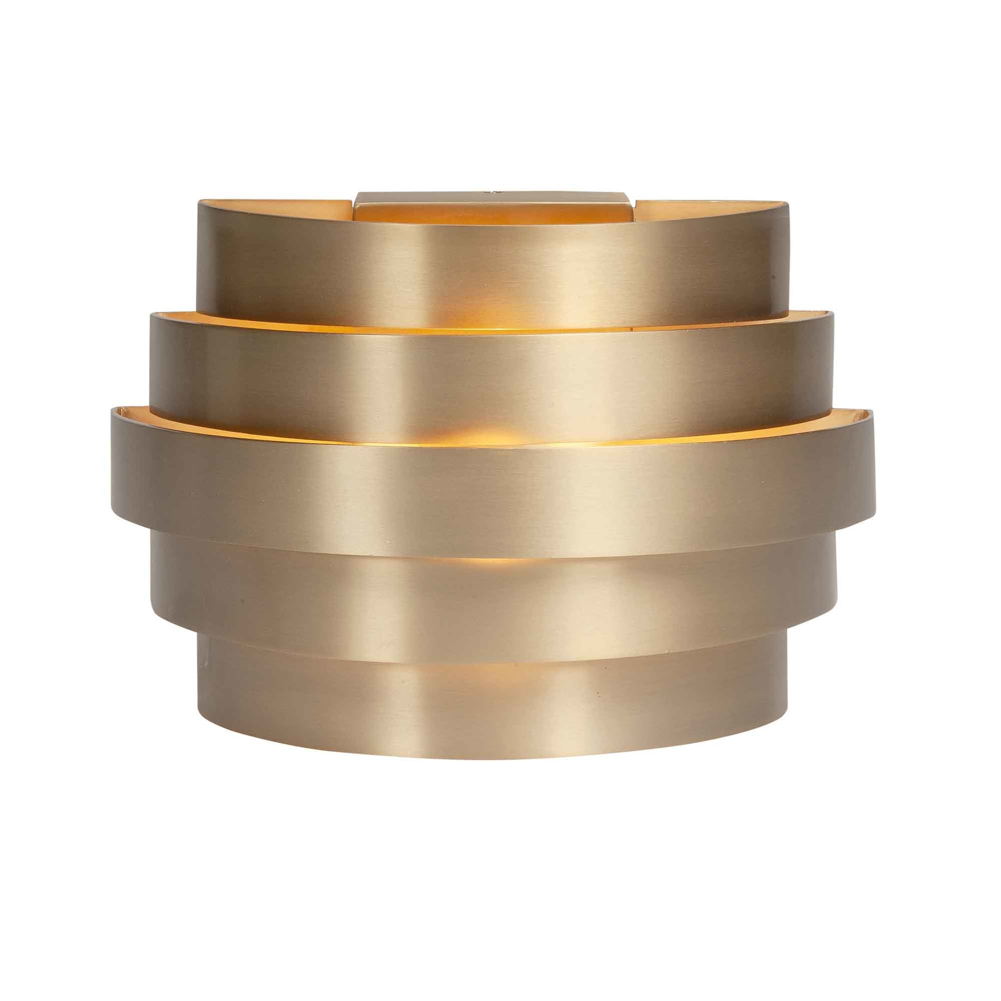 Highlight Wandlamp Scudo B 20 cm licht brons