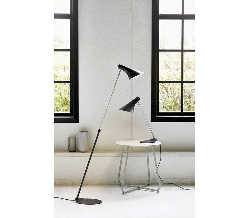 Vloerlamp Vanila H 129 cm E14 zwart