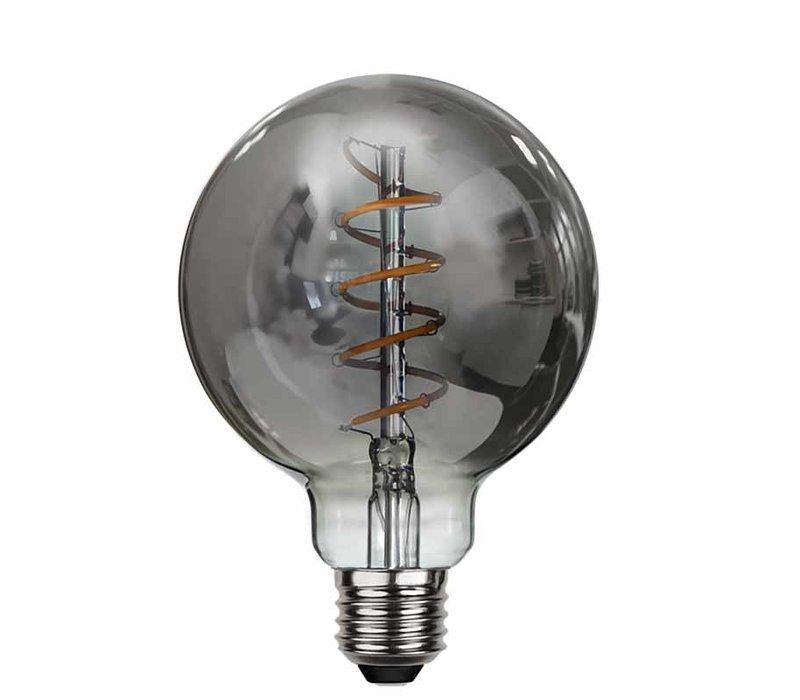 Lamp LED G95 9W 350LM 2200K Dimbaar Rook