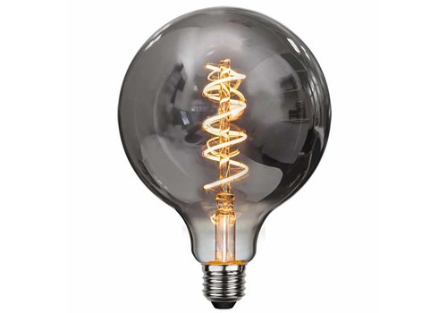 Highlight Lamp LED G125 4W 100LM 2200K Dimbaar Rook