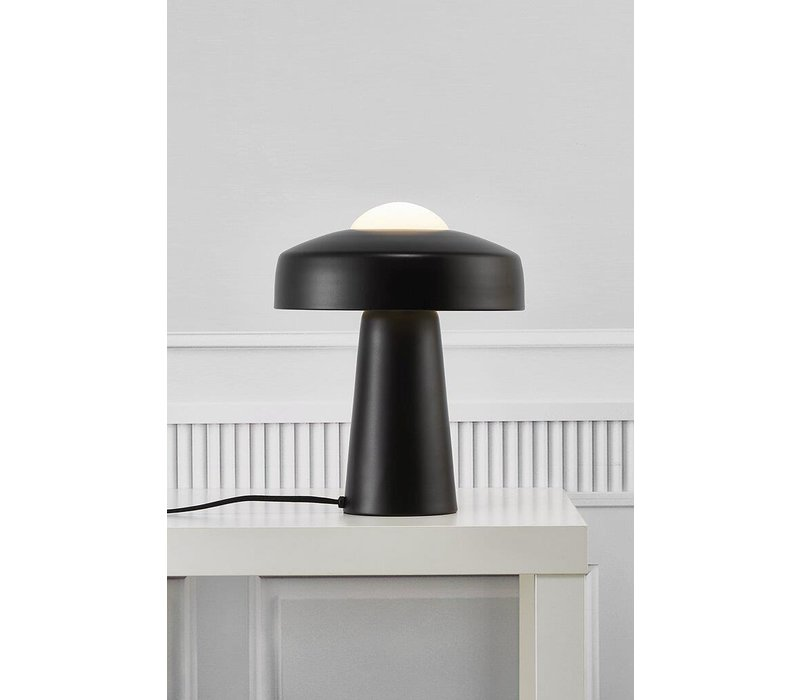 Tafellamp Time Ø 27 cm H 34 cm zwart