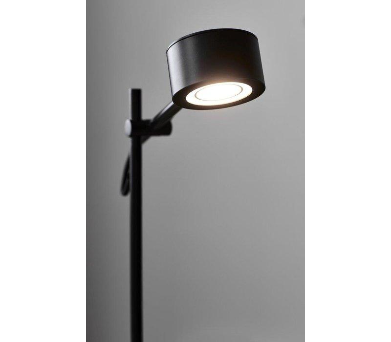 Tafellamp Clyde H 40 cm 3 step dim zwart