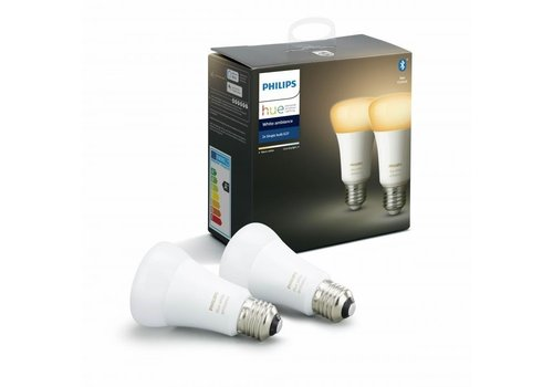 Philips HUE Lichtbron E27 White Ambiance 2 pack