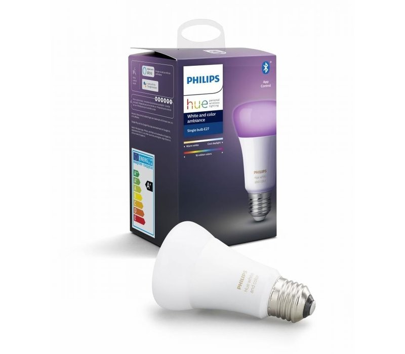 HUE Lichtbron E27 White and Color Ambiance