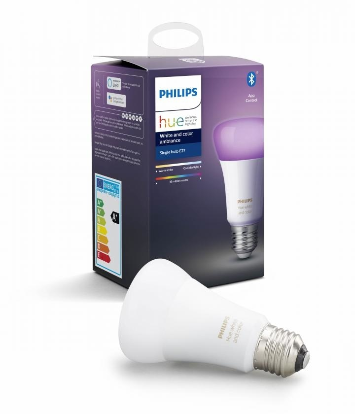 Philips HUE Lichtbron E27 White and Color Ambiance