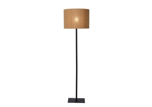 Lucide MAGIUS Vloerlamp Rotan E27/40W H160 Zwart/natuurkl