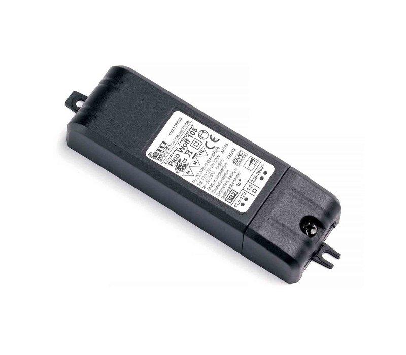 Transformator Pico 20-105 Watt 12 volt zwart