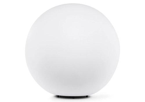 Ylumen Buitenlamp Globe Ø 50 cm wit