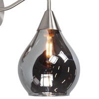 Wandlamp Cambio H 27 cm Ø 15 cm mat chroom