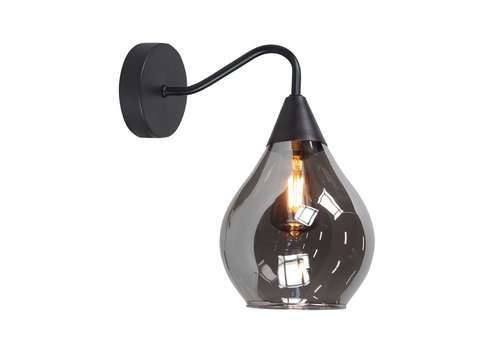 Highlight Wandlamp Cambio H 27 cm Ø 15 cm zwart