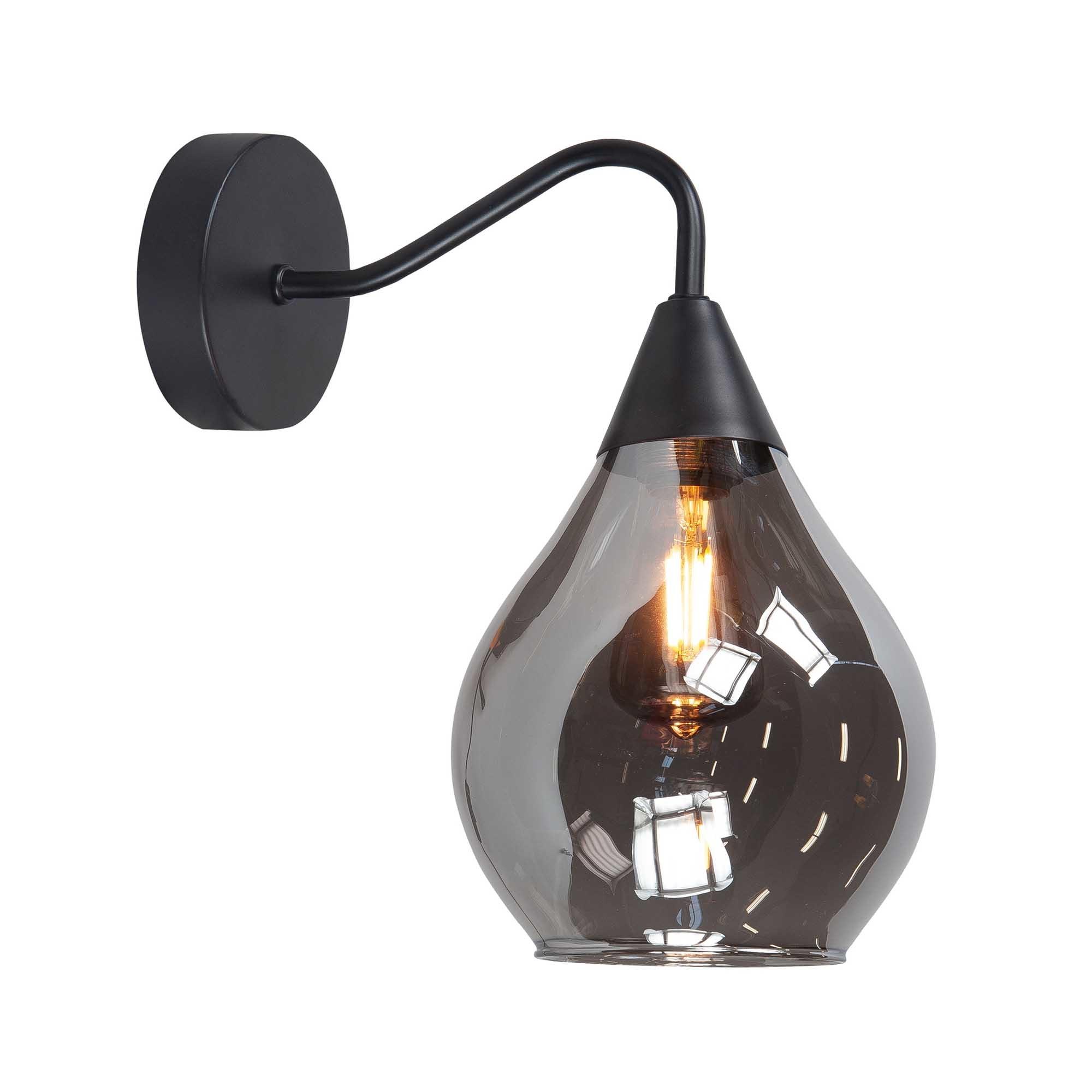 Highlight Wandlamp Cambio H 27 cm � 15 cm zwart