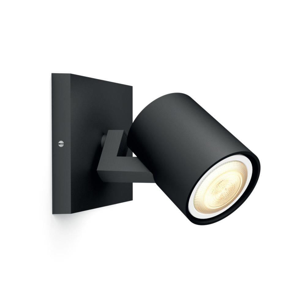 Philips Spot HUE Runner 1 lichts zwart